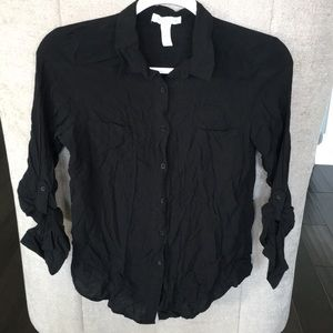 Ambiance Apparel Black Top